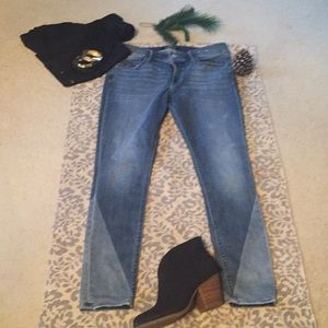 🔴EXPRESS~worn once. Legging fit jeans
